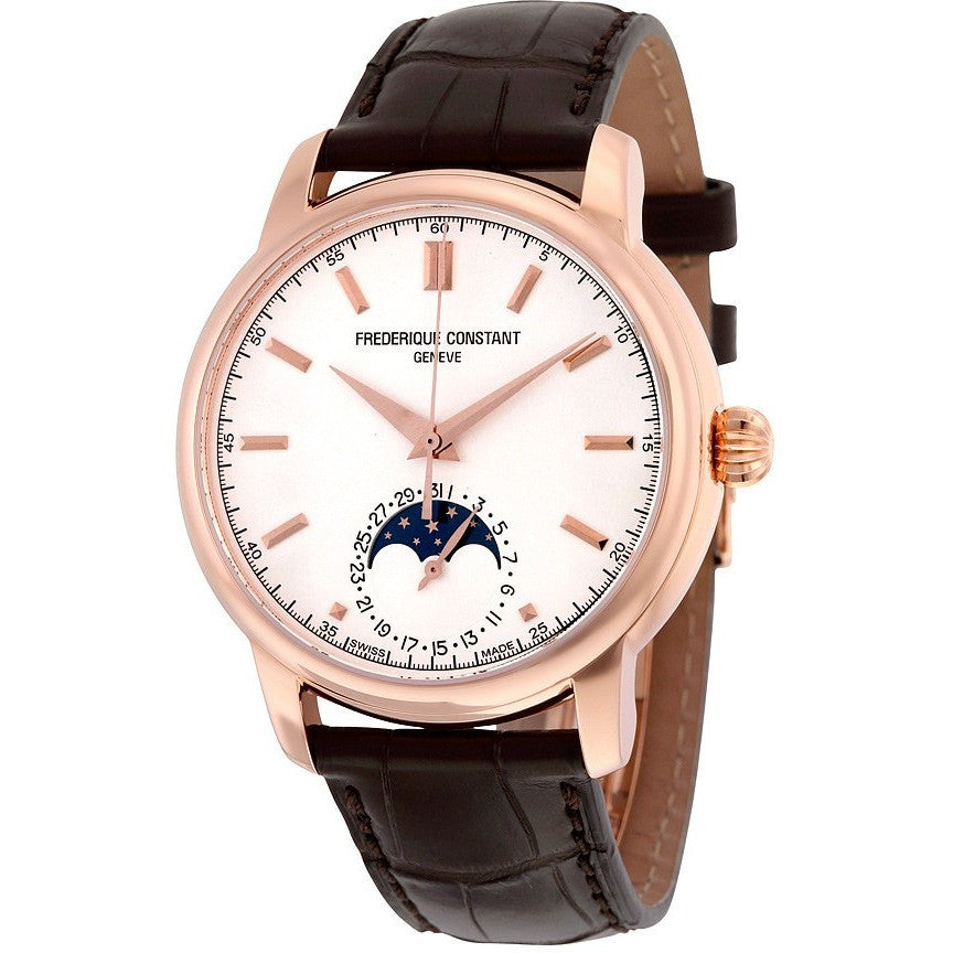 Frederique Constant Men's FC-715V4H4 Classic Moonphase Automatic Watch