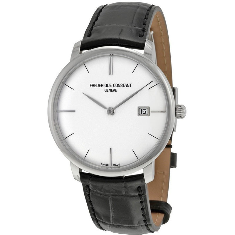 FREDERIQUE CONSTANT Slimline Silver Dial Automatic Men's Watch