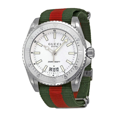 Gucci Men's YA136207 Dive Quartz Watch