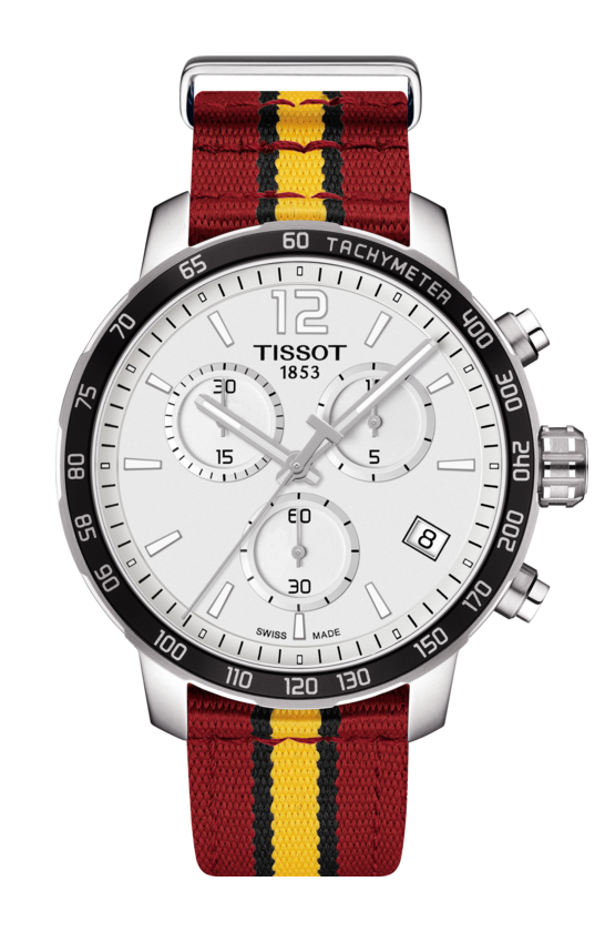 Tissot Men's T0954171703708 Special Edition Quickster Miami Heat NBA Watch