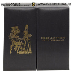 Cook Islands 2015 25/20 dollars Masterpieces of Art - Masterpieces of Art GOLDEN THRONE silver 93.3g gold 7.09g coin