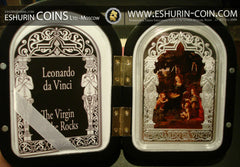 Andorra 2013 Madonna Virgin of the Rocks Leonardo da Vinci Kilo Silver Coin 1kg