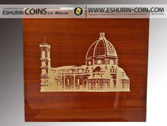 Niue 2014 9x 10$ The Fresco Under The Dome 1kg rimless colorprint