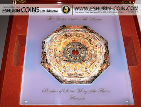 Niue 2014 10 Dollars The Fresco Under The Dome 1Kg Silver Set Coin ARTNIUE0004
