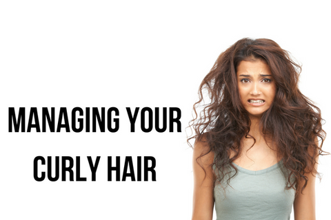 MANAGING YOUR CURLY HAIR