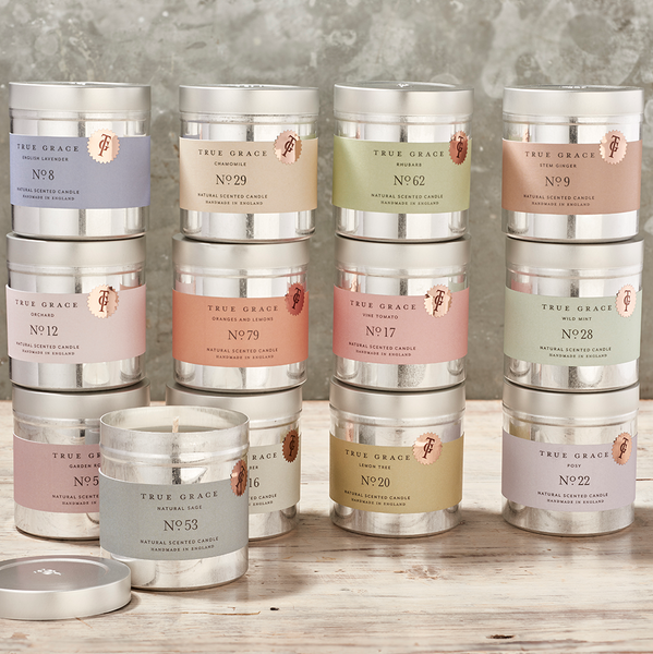 True Grace Walled Garden Tin selection