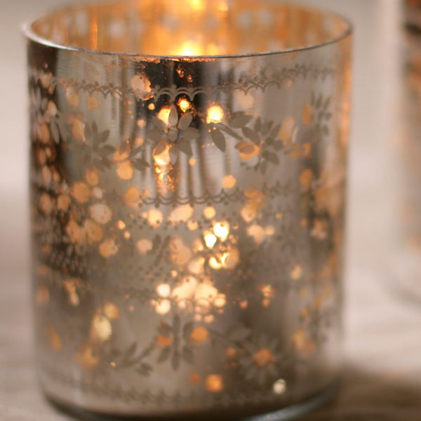 Nkuku sparkling tea light