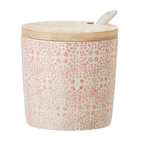 Bloomingville Cecile Jar with Lid & Spoon