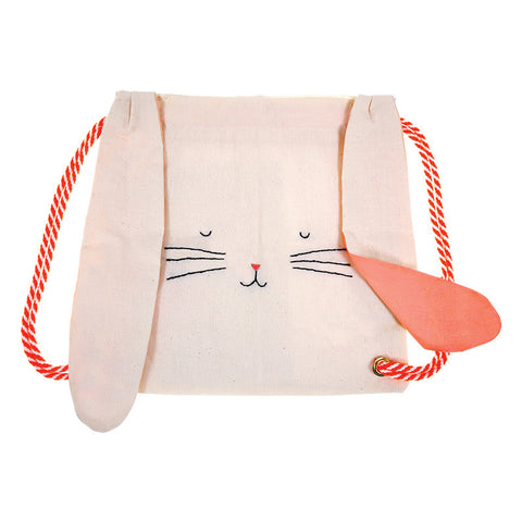 Meri Meri Rabbit Drawstring Bag.
