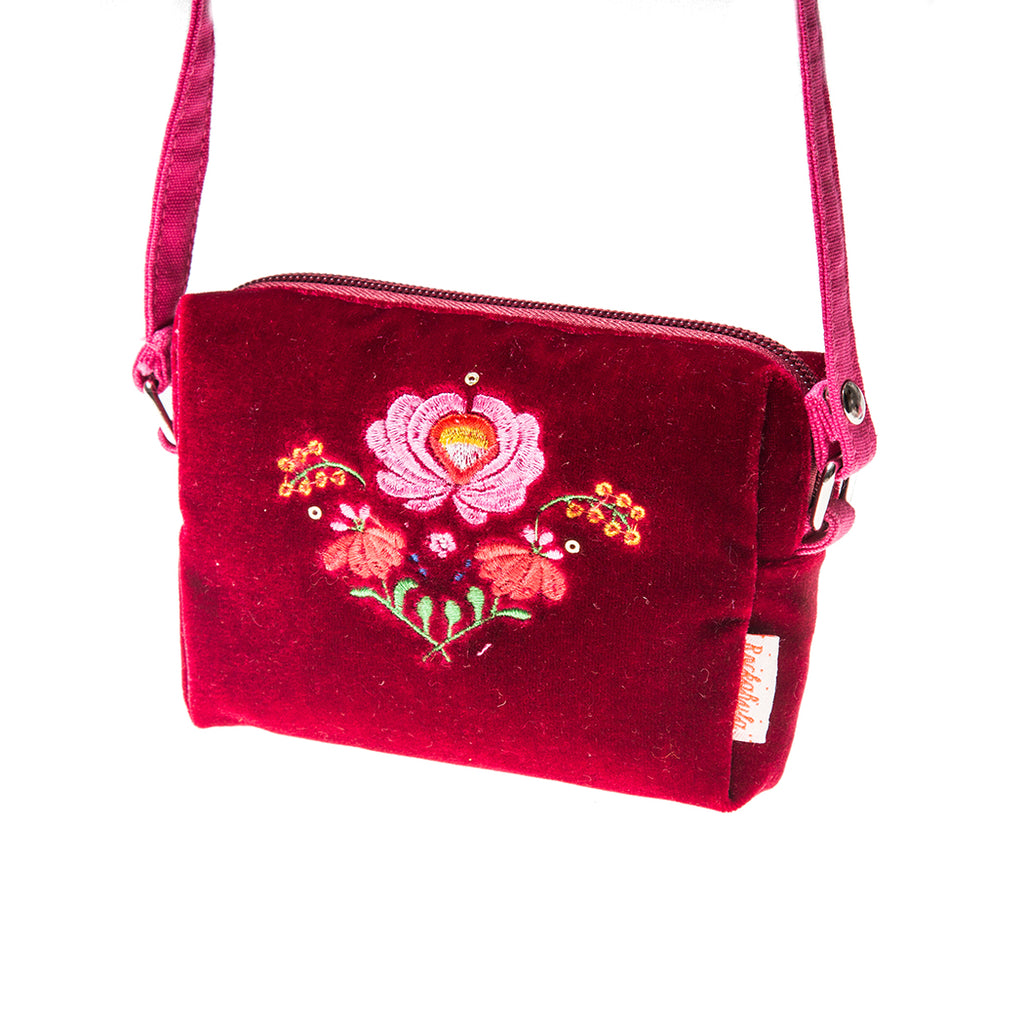 Rockahula Red Velvet Bag