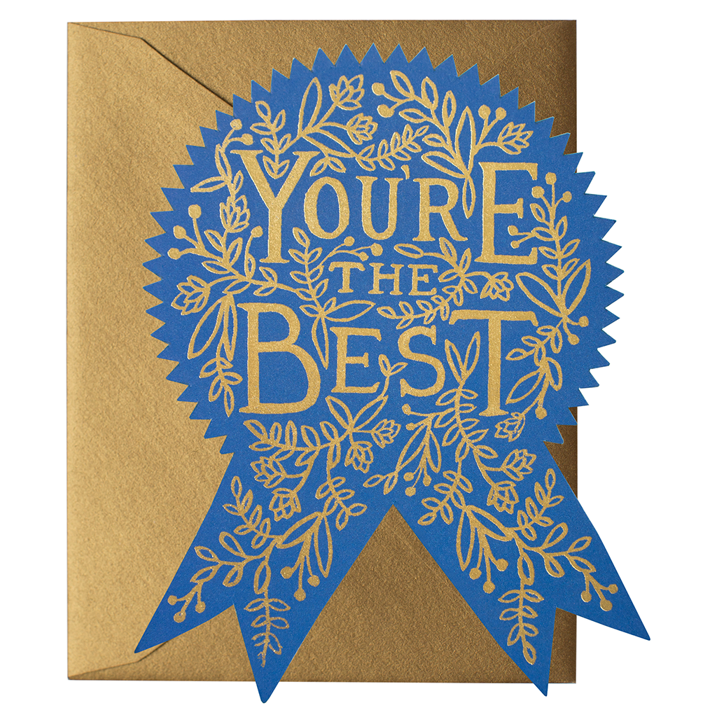 Rifle Paper Card - You're the Best