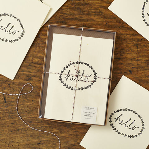 Katie Leamon Box of Cards 'Hello'