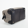 Men's Society canvas and leather washbag