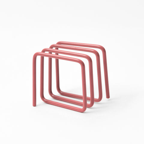 Block Design's letter rack in pink