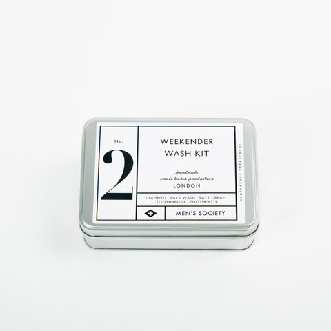 Men's Society Grooming Set No.2 The Weekender