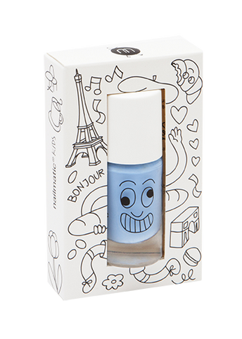 Children's Water Based Nail Polish In Sky Blue