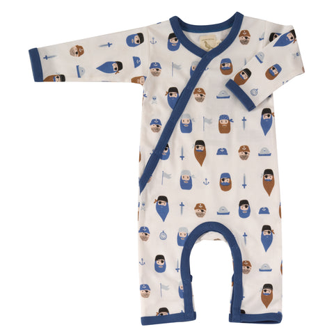 Pigeon - 100% Organic Cotton Pirates Romper