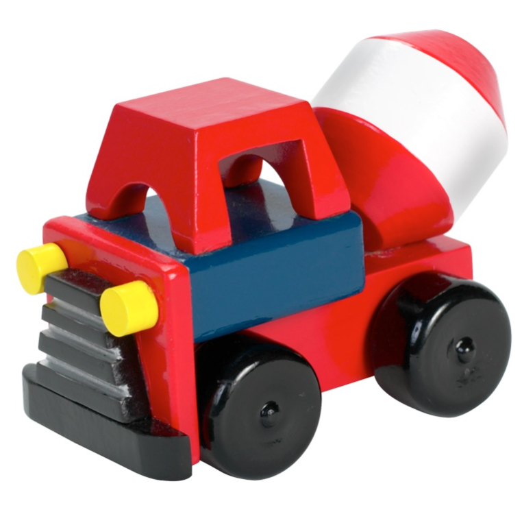 Orange Tree Toys small cement mixer