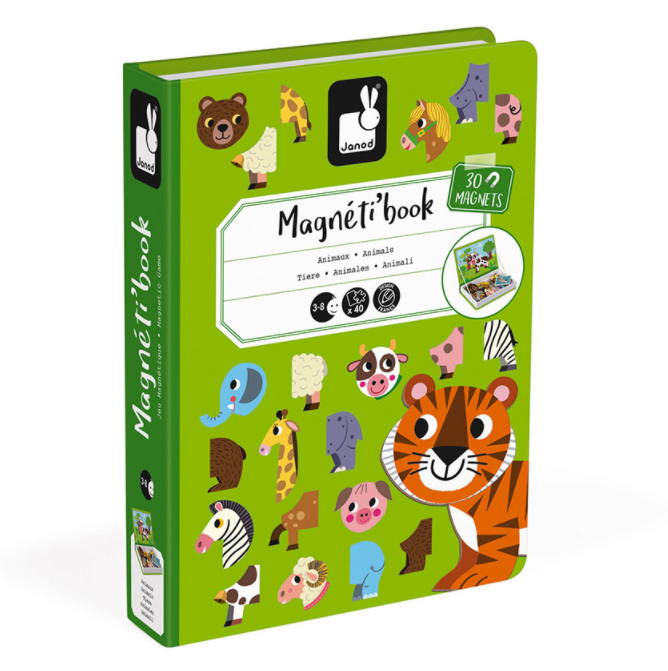 Janod Magneti book Animals
