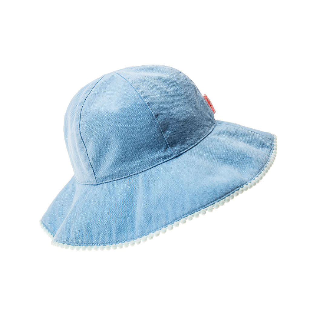 Rockahula Floppy Sun Hat Blue
