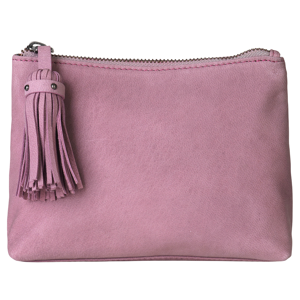 Beck Söndergaard Leather Pouch Israa in Wistful Mauve