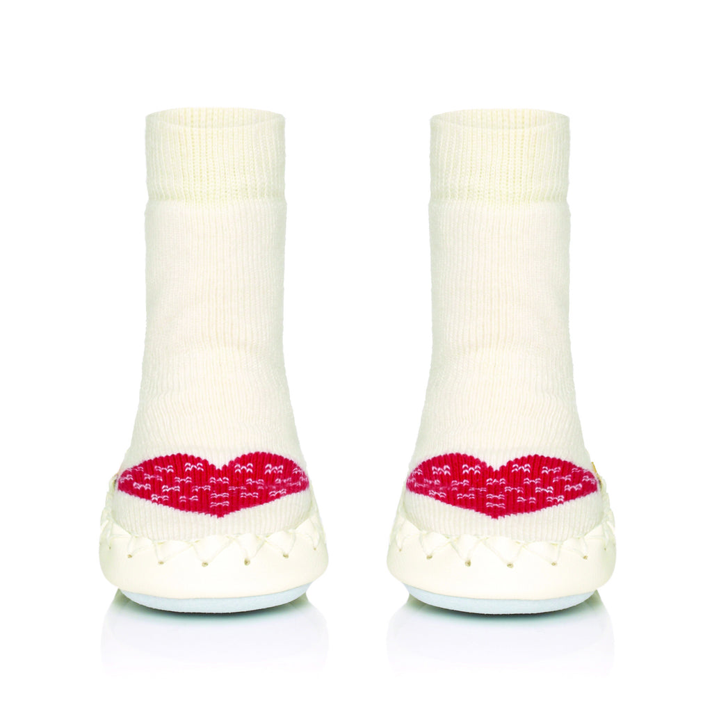 Moccis Red Heart Moccasins