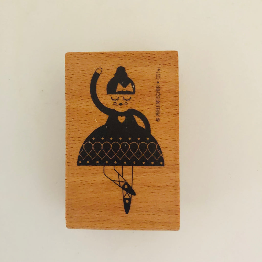 Wooden stamp dancer