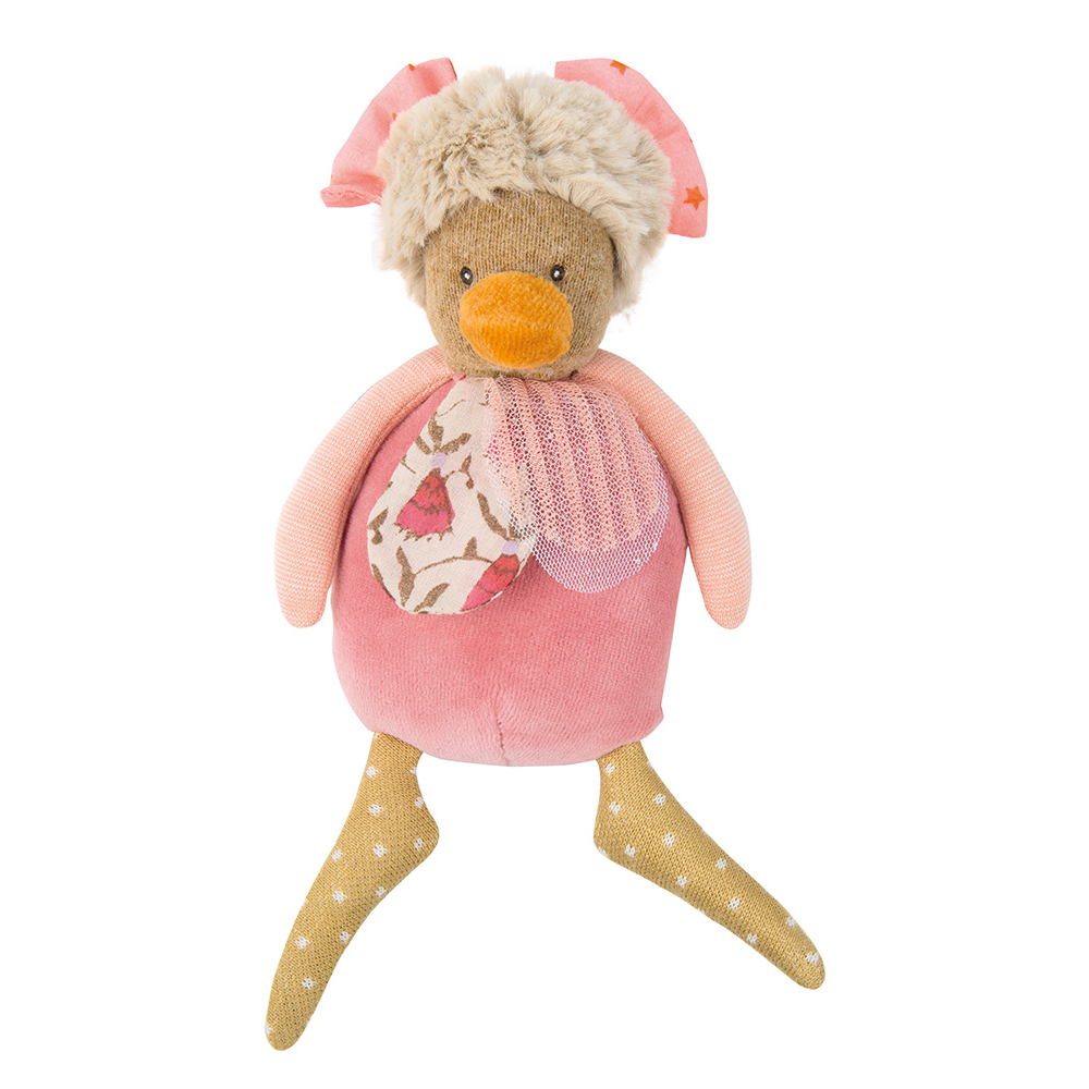 Les Partempois Hen Rattle by Moulin Roty