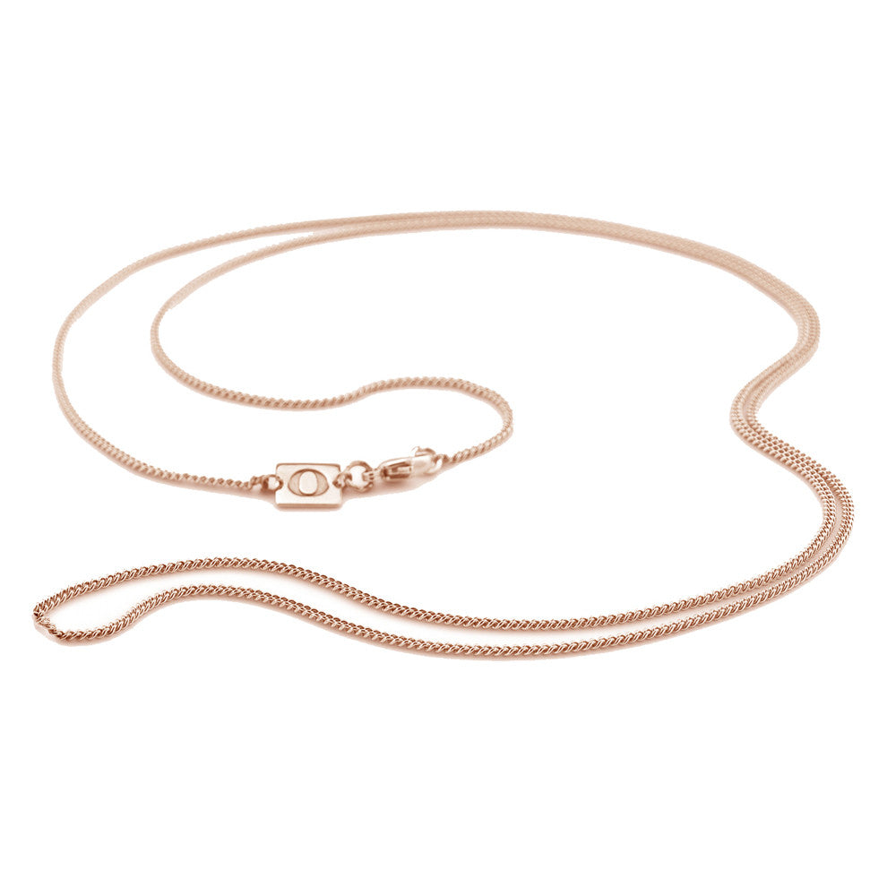 Oak Jewellery Rose Gold Chain