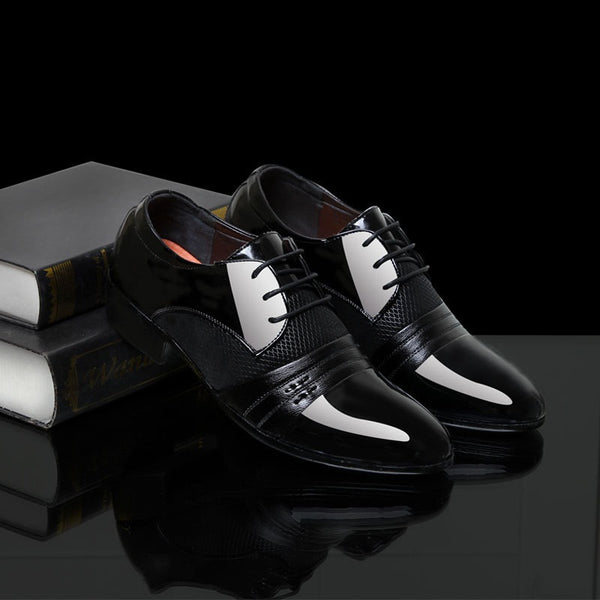 Leather Cartographer Men Shoes