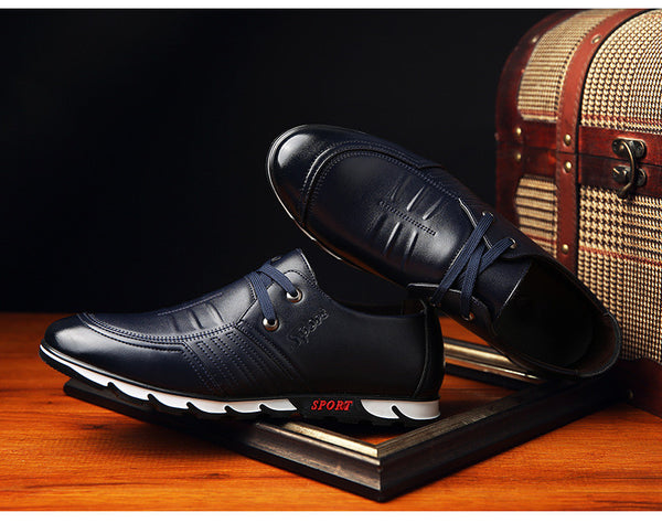 Breathable Leather Men Shoes