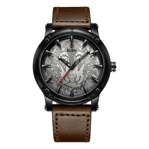 BIDE.05 New Fashion Stylish Wolf Dial Watch