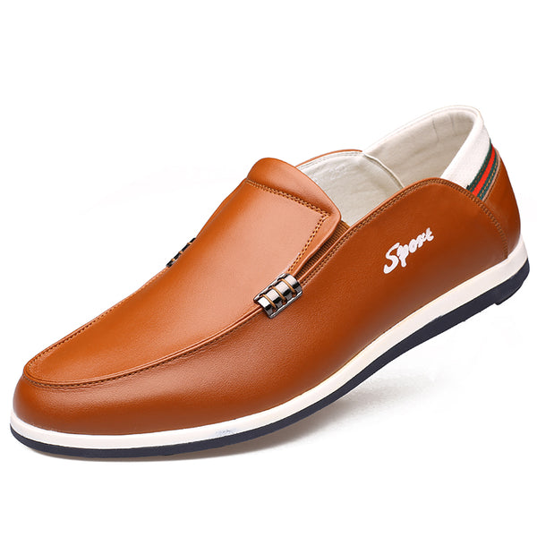 Casual Leather Men Loafers Shoes