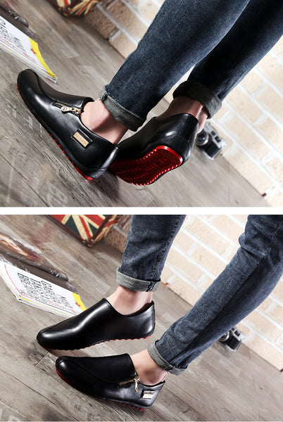 Lace-Up Leather Men Shoes