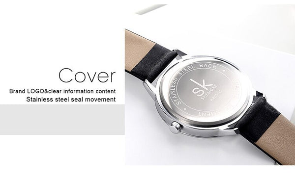 SK.05 Leather Quartz Watch