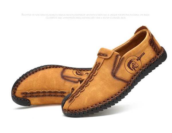 Loafer Split Leather Men Shoes