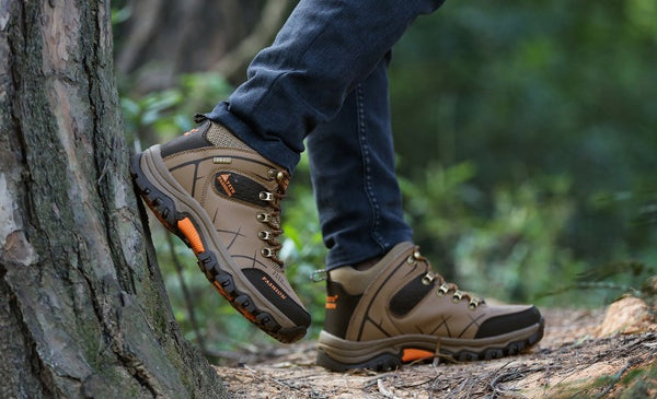 Heavy duty Camping Men Shoes