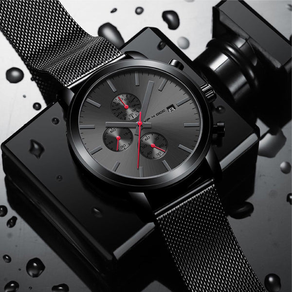 Crucian.04 Quartz watch men Luxury Brand