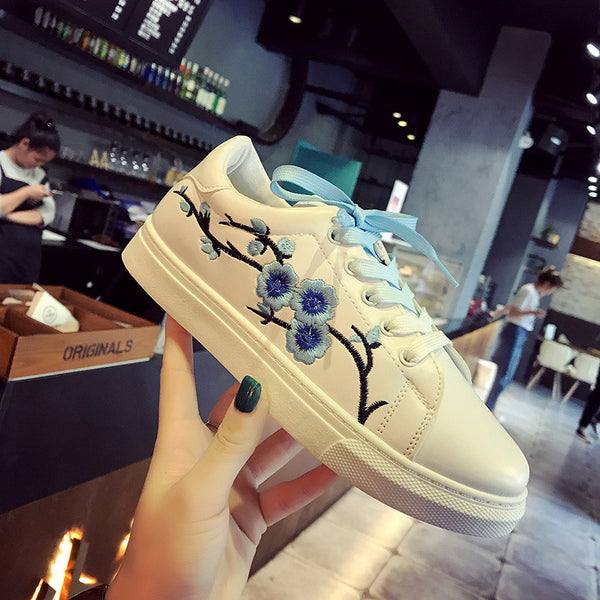 Women Fashion Printed Shoes