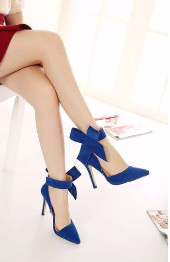 Butterfly Pointed Women Shoes