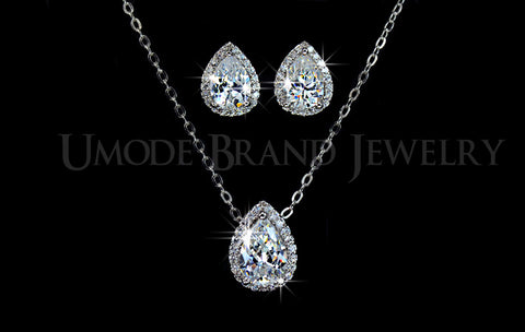 Pear Cubic Zircon Design Jewlery