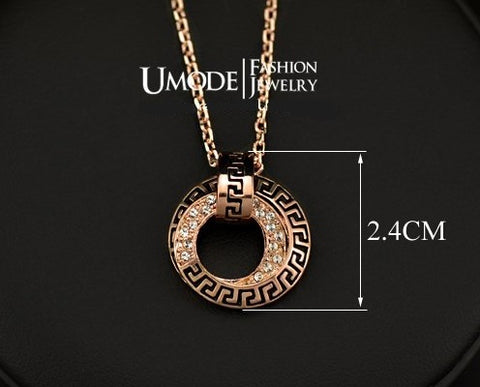 18 Real Gold Plated Rose Gold Jewlery