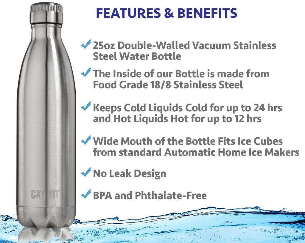 Stainless Steel Water Bottle 25oz