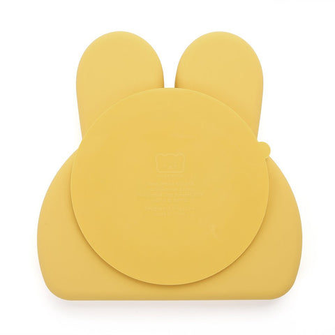 BUNNY SILICONE PLATE . BUTTERCUP