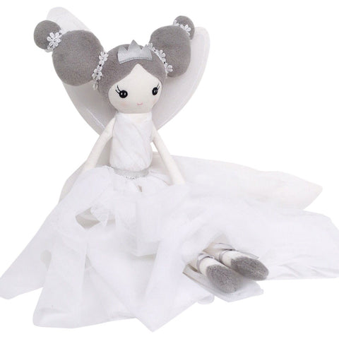 DAMSELFY WOODLAND FAIRY IN WHITE