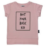 NOT YOUR BASIC KID TEE (WHITE)