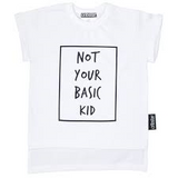 NOT YOUR BASIC KID TEE (DUSTY PINK)