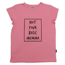 NOT YOUR BASIC MUMMA TEE (DUSTY PINK)