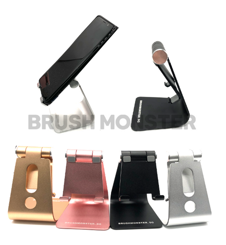 BRUSH MONSTER ADJUSTABLE PHONE STAND (BLACK)