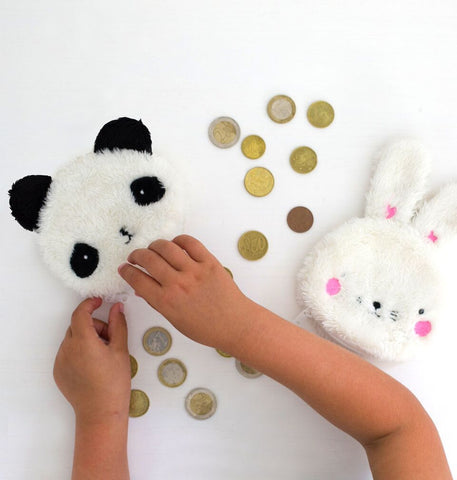 POCKET MONEY: FLUFFY PANDA